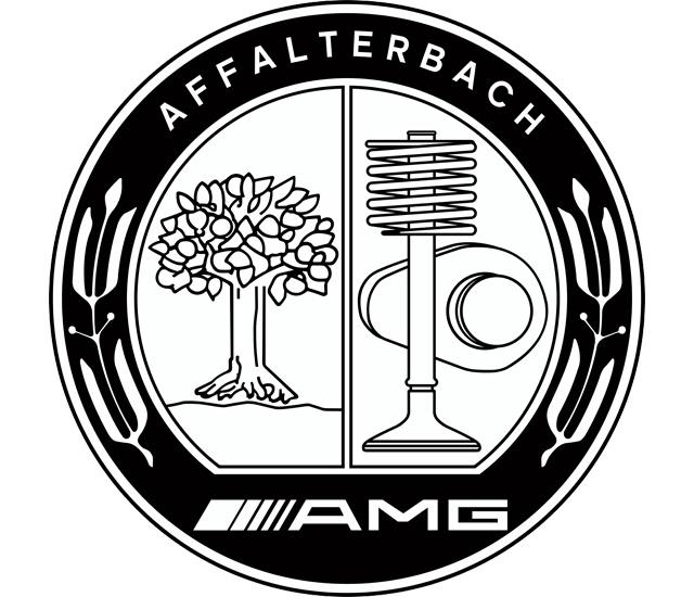 AMG Emblem (black) 2560x1440 HD Png