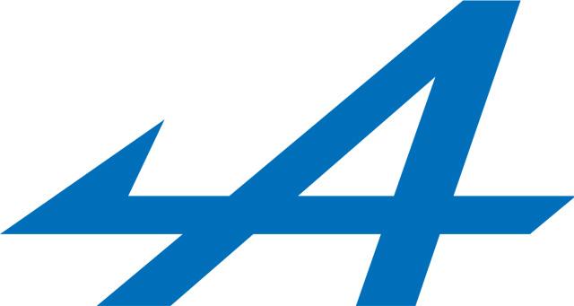 Alpine Logo (Present) 1440x900 HD Png