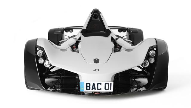 BAC Mono Front view