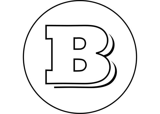 Brabus Emblem (1366x768) HD Png