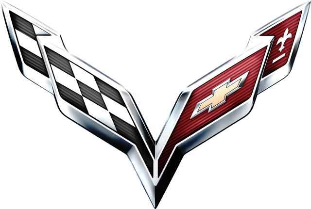 Corvette logo (2014–Present) 1024x768 HD png