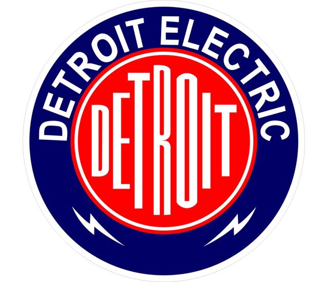 Detroit Electric emblem 2560x1600 HD Png