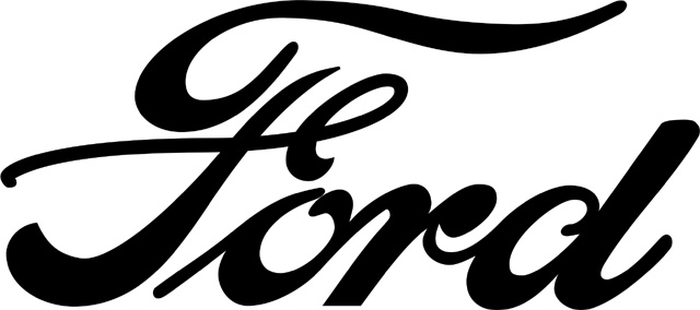 Ford Text Logo (black) 2048x2048