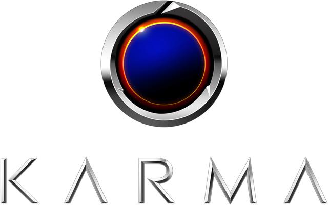 Karma logo (Present) 2560x1440 HD png