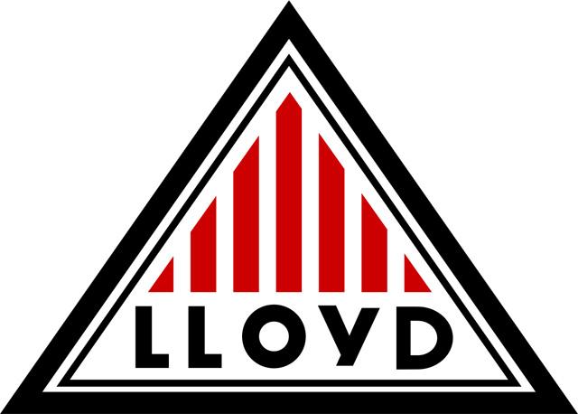 Lloyd Logo (black) 1920x1080 HD Png
