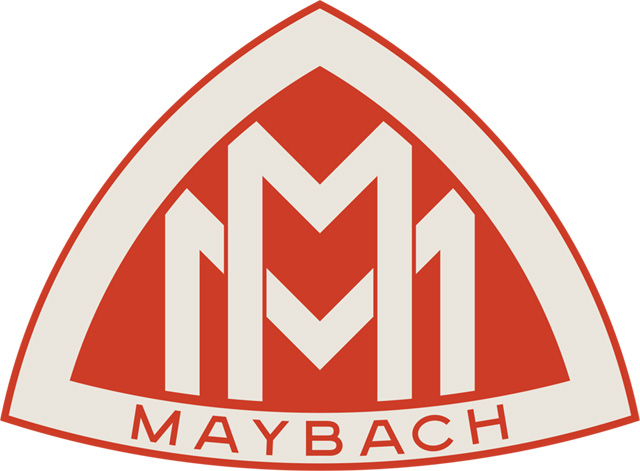 Maybach Logo (Red) 2048x2048 HD png