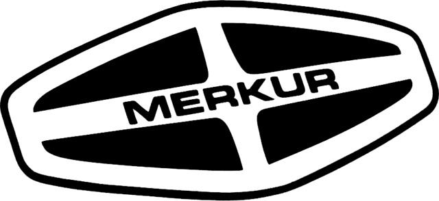 Merkur Logo (1985-1989) 1366x768 HD Png