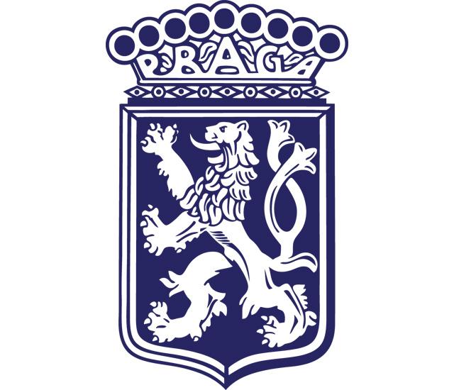Praga Crest Logo (blue) 1920x1080 HD png