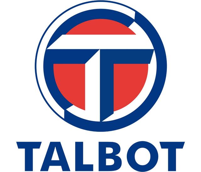 Talbot Logo (blue) 1440x900 HD Png