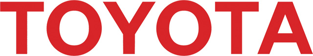 Toyota Text Logo (red) 3000x550 HD png