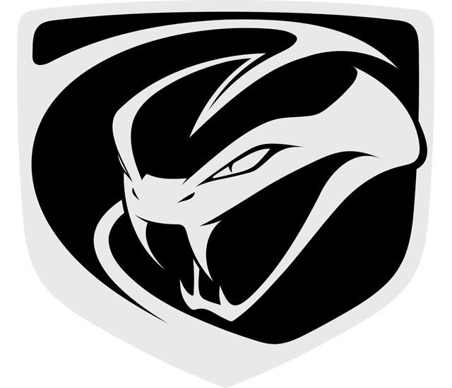 Dodge Viper logo (2048x2048) HD Png