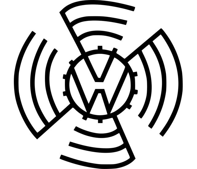 Volkswagen symbol (1937) 1920x1080 (HD 1080p)