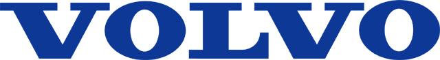 Volvo Text Logo (blue) 2048x2048 HD png