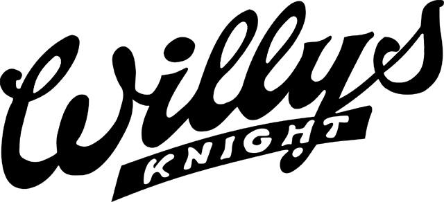 Willys-Knight Logo (black) 2560x1440 HD png